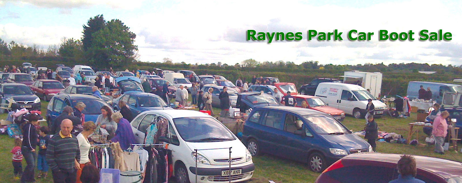 Raynes Park Car Boot Sale
